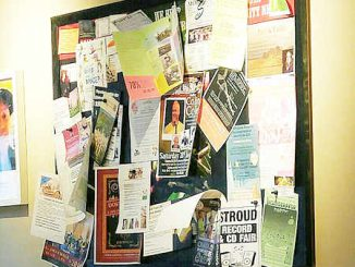 Too many messages on a corkboard