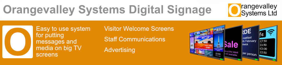 Digital Signage and Electronic Noticeboards