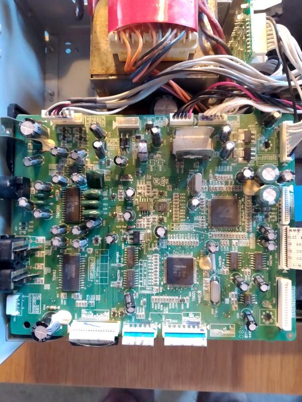 Yamaha CRX-D430 CPU Board
