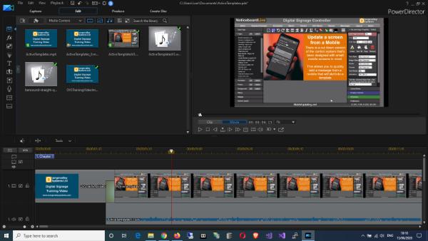 Making training videos
