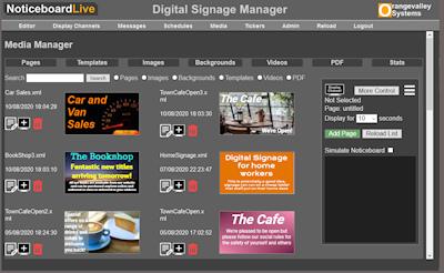 signage asset manager