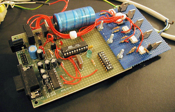Lighting Controller using an ATMEL