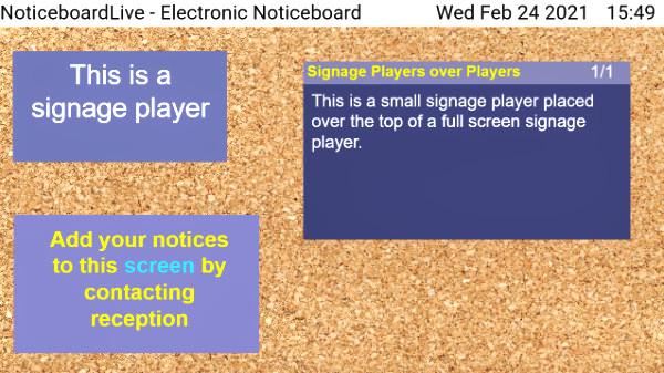 signage player zone editor