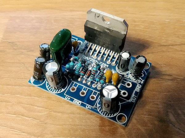 TDA7293 circuit board