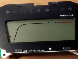 CB500F speedo assembly
