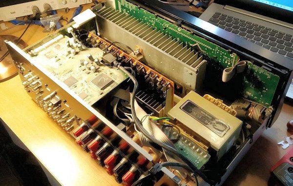 Onkyo Receiver TX-SR607 faulty